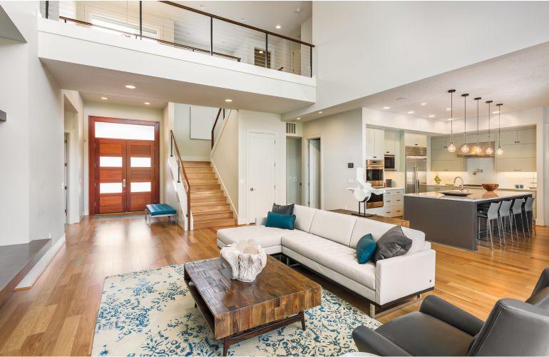 Купить дом в Майами недорого фото - Дизайн интерьера в современном доме в Майами
